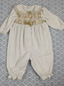 Girls 6-9 month vintage baby outfit